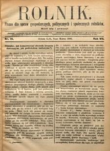 Rolnik, 1900, R. 7, nr10