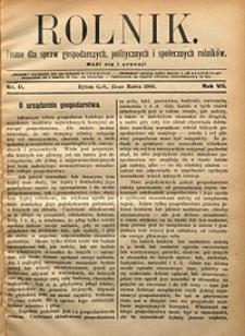 Rolnik, 1900, R. 7, nr11