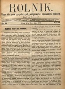 Rolnik, 1900, R. 7, nr28