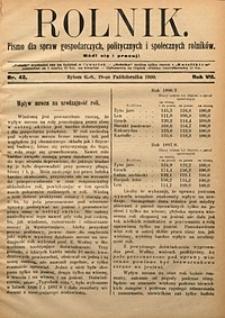 Rolnik, 1900, R. 7, nr42