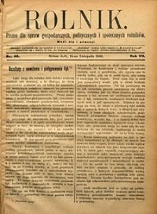 Rolnik, 1900, R. 7, nr46
