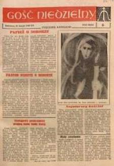 Gość Niedzielny, 1963, R. 32, nr 6