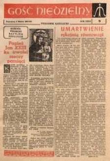 Gość Niedzielny, 1963, R. 32, nr 9