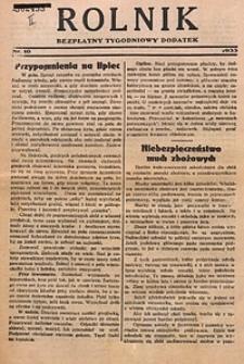 Rolnik, 1933, [R. 31], nr10