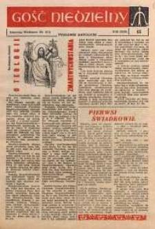 Gość Niedzielny, 1963, R. 36, nr 15