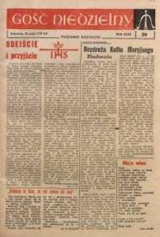 Gość Niedzielny, 1963, R. 32, nr 20
