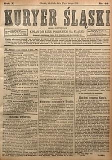 Kuryer Śląski, 1918, R. 10 [właśc. 12], nr40