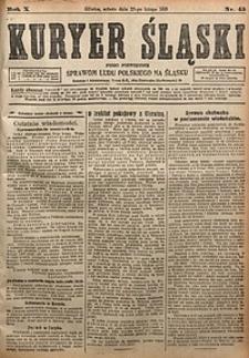 Kuryer Śląski, 1918, R. 10 [właśc. 12], nr45