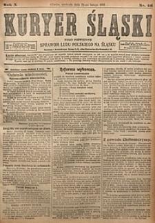 Kuryer Śląski, 1918, R. 10 [właśc. 12], nr46
