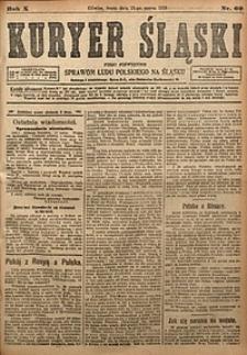 Kuryer Śląski, 1918, R. 10 [właśc. 12], nr60
