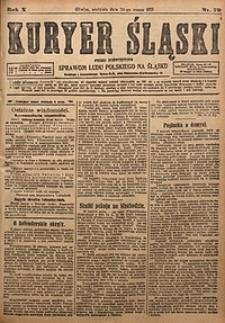 Kuryer Śląski, 1918, R. 10 [właśc. 12], nr70