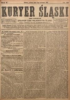 Kuryer Śląski, 1918, R. 10 [właśc. 12], nr79