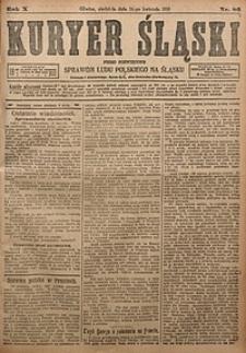 Kuryer Śląski, 1918, R. 10 [właśc. 12], nr86