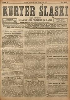 Kuryer Śląski, 1918, R. 10 [właśc. 12], nr117