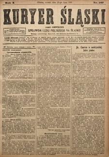 Kuryer Śląski, 1918, R. 10 [właśc. 12], nr167