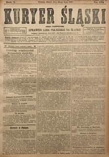 Kuryer Śląski, 1918, R. 10 [właśc. 12], nr173