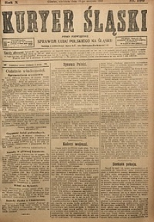 Kuryer Śląski, 1918, R. 10 [właśc. 12], nr190