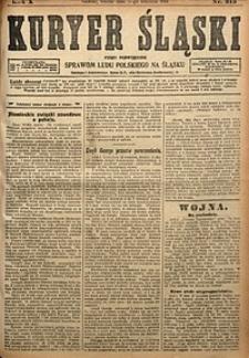 Kuryer Śląski, 1918, R. 10 [właśc. 12], nr215