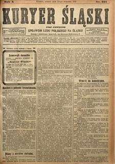Kuryer Śląski, 1918, R. 10 [właśc. 12], nr221