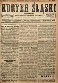 Kuryer Śląski, 1918, R. 10 [właśc. 12], nr242