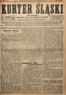 Kuryer Śląski, 1918, R. 10 [właśc. 12], nr250