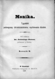 Rejestr Moniki, R. 2 (1887)