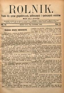 Rolnik, 1903, R. 10, nr14