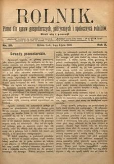 Rolnik, 1903, R. 10, nr28