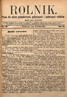 Rolnik, 1902, R. 9, nr36