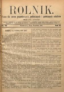 Rolnik, 1902, R. 9, nr39