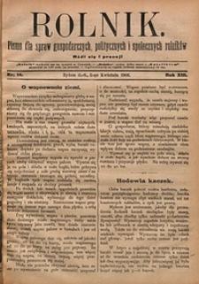 Rolnik, 1906, R. 13, nr14