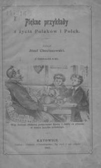 Piękne przykłady z życia Polaków i Polek. Z obrazkami
