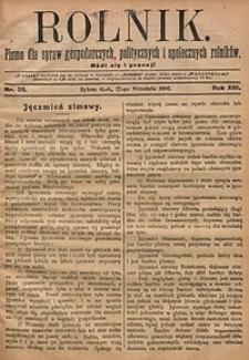 Rolnik, 1906, R. 13, nr39
