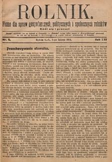 Rolnik, 1914, R. 21, nr6