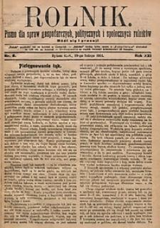 Rolnik, 1914, R. 21, nr8
