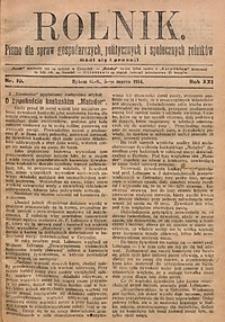 Rolnik, 1914, R. 21, nr10