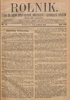 Rolnik, 1914, R. 21, nr14