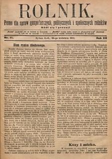 Rolnik, 1914, R. 21, nr18