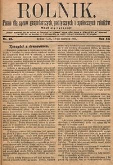 Rolnik, 1914, R. 21, nr25