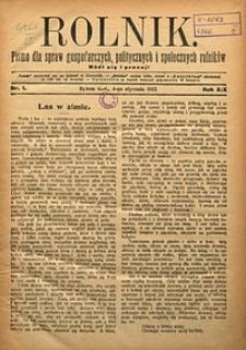 Rolnik, 1912, R. 19, nr1