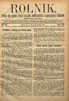 Rolnik, 1912, R. 19, nr16