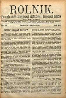 Rolnik, 1912, R. 19, nr28