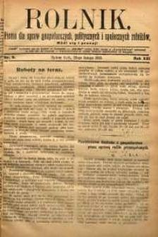 Rolnik, 1912, R. 19, nr8