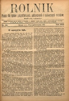 Rolnik, 1911, R. 18, nr42