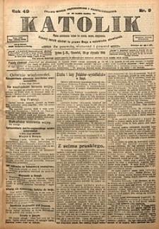 Katolik, 1916, R. 49, nr9
