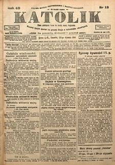 Katolik, 1916, R. 49, nr12