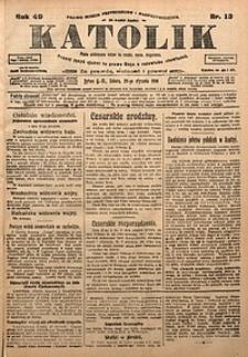Katolik, 1916, R. 49, nr13