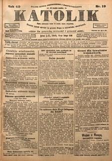 Katolik, 1916, R. 49, nr19