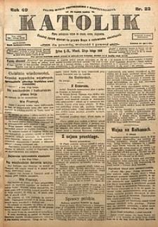 Katolik, 1916, R. 49, nr23