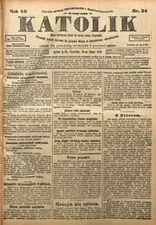 Katolik, 1916, R. 49, nr24
